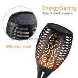 La candela solare IP65 della luce intermittente dell'indicatore luminoso della torcia della fiamma del giardino impermeabilizza la lampada decorativa per la via del prato inglese