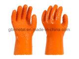Перчатки 908 работы перчаток PVC нового типа противоскользительные