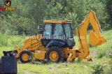 Backhoe do carregador Jx45 da roda de China para a venda