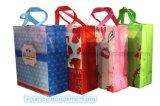 Non сплетенный прокатанный мешок подарка делая машину (Zx-Lt500)