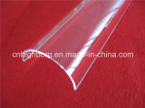 Arco de venda quente Chapa de quartzo transparente para churrasqueira