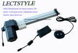 Atuadores lineares de 24 V DC Stroke 250 mm para cama de beleza elétrica para cima e para baixo