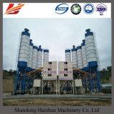 Pianta d'ammucchiamento concreta 90m3/H di Hzs 90 fissi con il silo di cemento
