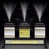 Barra clara impermeável do diodo emissor de luz quatro do refletor brilhante super IP68 540W 23inch das fileiras 8d