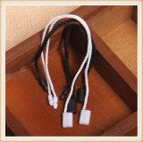 Pendurar roupa Tag string tag de vedação de plástico de bloqueio para vestuário