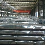 Strato rivestito galvanizzato del tetto del tetto dello zinco d'acciaio dello strato