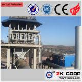 Preheater elevado da estufa giratória de eficiência térmica na estufa de cal ativa