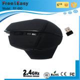 Резиновое покрытие Большой размер 6D беспроводные игровые мыши для ПК