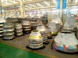 Pezzi di ricambio di vendite dell'alto del manganese frantoio caldo del cono, manto, concavo
