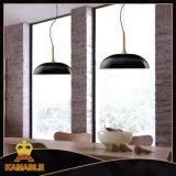 Хорошее качество древесины металлический подвесной светильник (КА21162-1-500)