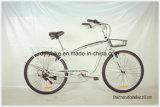 26inch浜のバイク、浜の自転車、Shimano 6speedの巡洋艦のバイク