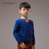 100% Algodão Primavera / Outono Crianças Vestuário Camisola Meninos