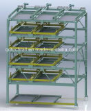 Sistema meccanico 6-Layer dell'elevatore di parcheggio