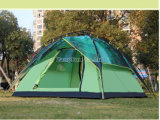 3-4人のキャンプの完全な自動テント、屋外の森林キャンプテント