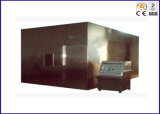 Máquina do verificador da densidade de fumo do fio IEC61034-1997 e do cabo