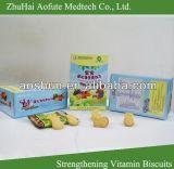 Verstärkung der Vitamin-Biskuite