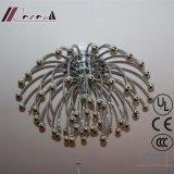Feuerwerk-Form-Edelstahl-Decken-Lampe für Hotel-Projekt