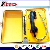 Prendere il telefono di manopola automatica resistente all'intemperie del telefono di chiamata