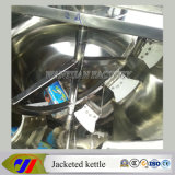 Heating eléctrico Tilting Jacketed Kettle con Mixer Scraper