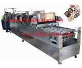 Enchimento da bandeja do arroz e máquina automáticos da selagem