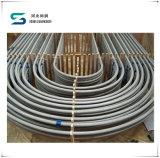 "Tubo en forma de ""u"" del acero inoxidable del cambiador de calor, tubos de acero de la curva en U de TP304/TP304L"