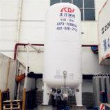 15m3 de la capacité du réservoir de stockage de liquides cryogéniques