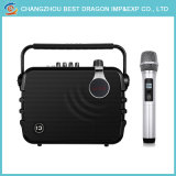 Altavoz portátil con micrófono inalámbrico UHF Karaoke