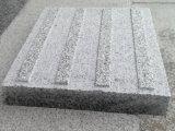 壁の正面の床タイルのための磨かれた表面のベセルの白いG603自然な石造りの花こう岩