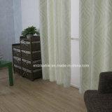 Marfil de colores más nuevo de lino Tocar jacquard tela de la cortina