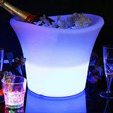 Muebles de Exterior LED cambia de color RGB vino de la cuchara de plástico