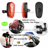 Traqueur de vélo/moto GPS avec la batterie Li-ion 1800mAh (TK-906)