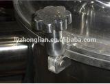 十分のPSFの上の排出開いたカバー平らな版の塩の遠心分離機機械