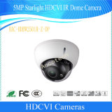 Dahua 5MP Starlight Hdcvi IR 돔 Vandalproof CCTV 사진기 (HAC-HDBW2501R-Z-DP)