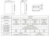 Serie 2V250ah de la batería con las placas tubulares para Telecome/UPS/Railway/Security/Medical/Alarm/Cable TV Appliation