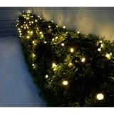 5mm Lichten van de Mini LEIDENE Ijskegel van het Gordijn, 3m X 3m de Openlucht Binnen LEIDENE 300LEDs Warme Witte Lichten van het Koord voor Huwelijk, Partij, Huis, de Decoratie van de Woonkamer (UL (CL01)