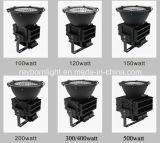 300W de alta potencia 400W a 500W IP66 proyector LED estadio al aire libre