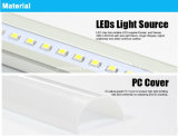 2016 Meilleur qualité G13 Base High Output Super Bright 18W T8 LED Tube