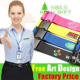 Colhedor de nylon da correia do Tag de Velcro com as cores de Pantone combinadas