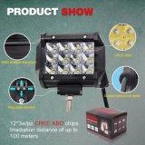 Mini 4 barre en gros d'éclairage LED de véhicule de pouce 36W