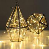 LED de luz de cordão de cobre para decoração de luz ao ar livre