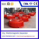 鉄6を取除くための乾燥した電子磁気分離器