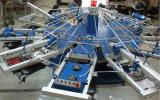Machine d'impression automatique d'écran de T-shirt/textile de 6 stations des couleurs 14/imprimeur d'écran