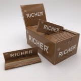 1개의 상자 50 소책자 더 부유한 담배 담배 종이 뭉치 127mm 2500 잎