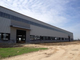 Edificio ligero prefabricado de la estructura de acero para la industria química (KXD-SSW100)
