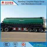 semi-remorque matérielle de réservoir de la poudre 30/35/40/45/50cbm/M3 avec l'essieu 3