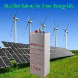 Une vie tubulaire solaire plus élevée de la batterie 25years de gel des cycles 2V1000ah Opzv
