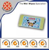Любимчик естественного волокна Disinfectant намочил Wipes
