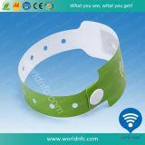 Bracelet en PVC jetable RFID à une seule fois