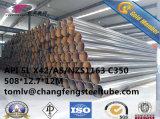 Tubos de acero de carbón del API 5L/ASTM A53/JIS G3444 STK540 ERW/HFW