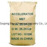 Acelerador de caucho Mbt (M), MF: C7H5NS2